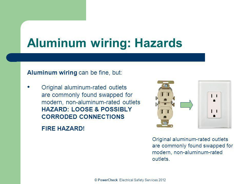 electrical risks, safety and solutions for older homes ... aluminum wiring hazards aluminum wiring harness