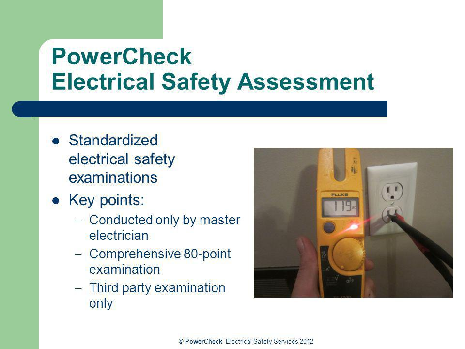 PowerCheck Electrical Safety Assessment