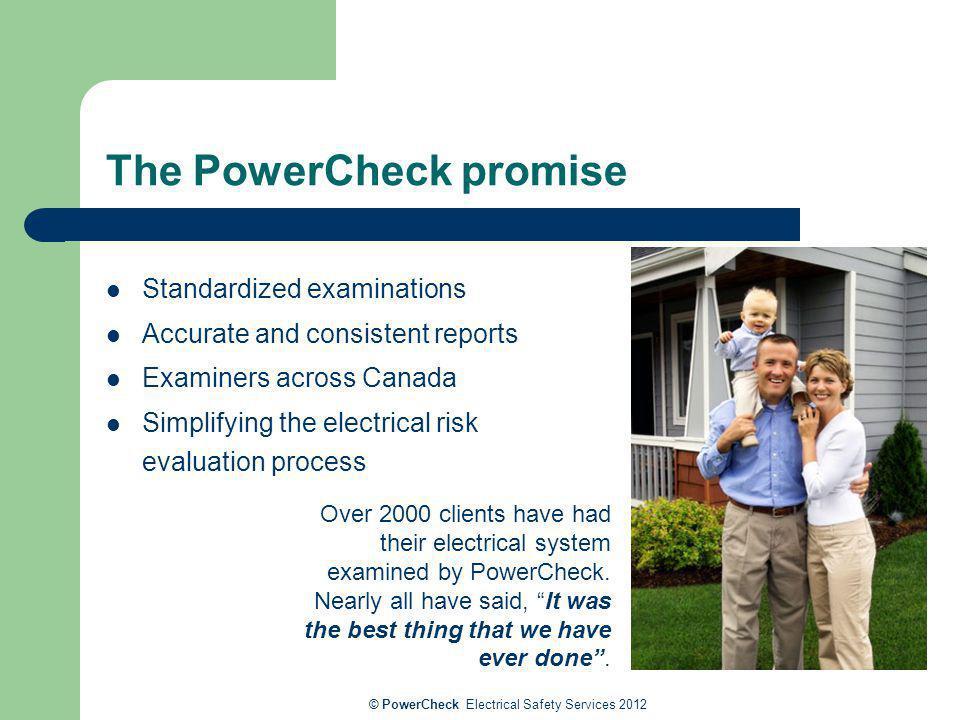 The PowerCheck promise