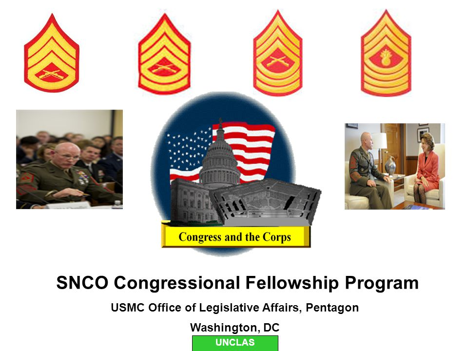 SNCO Congressional Fellowship Program