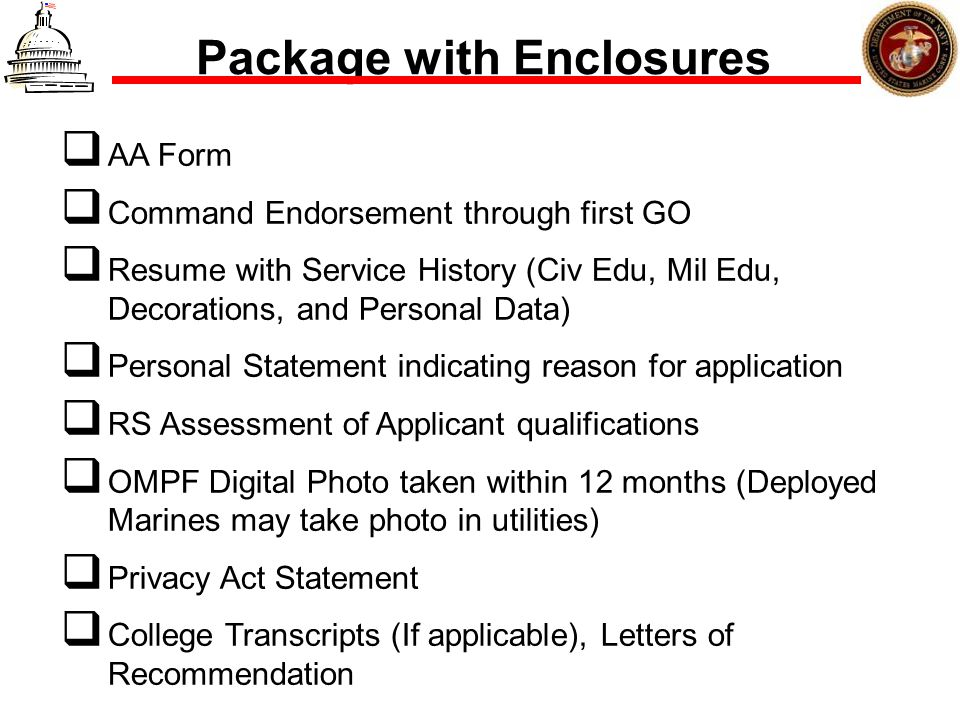Package with Enclosures