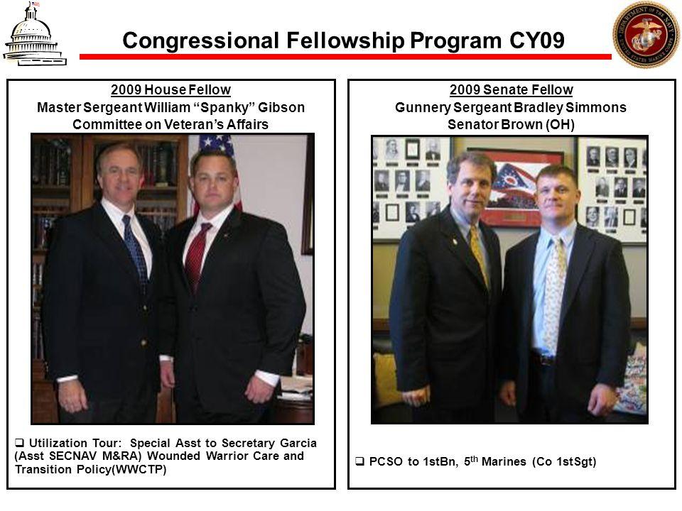Congressional Fellowship Program CY09