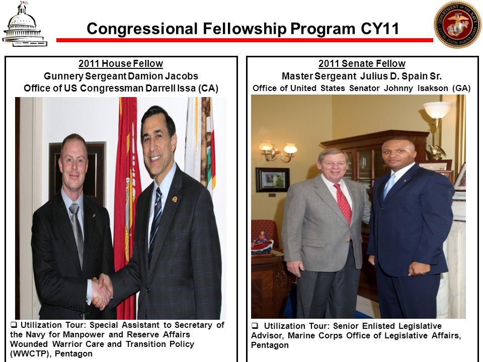 Congressional Fellowship Program CY11