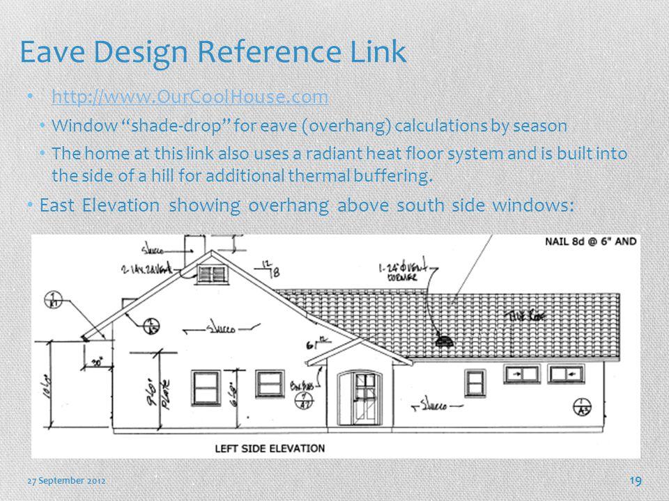 Eave Design Reference Link