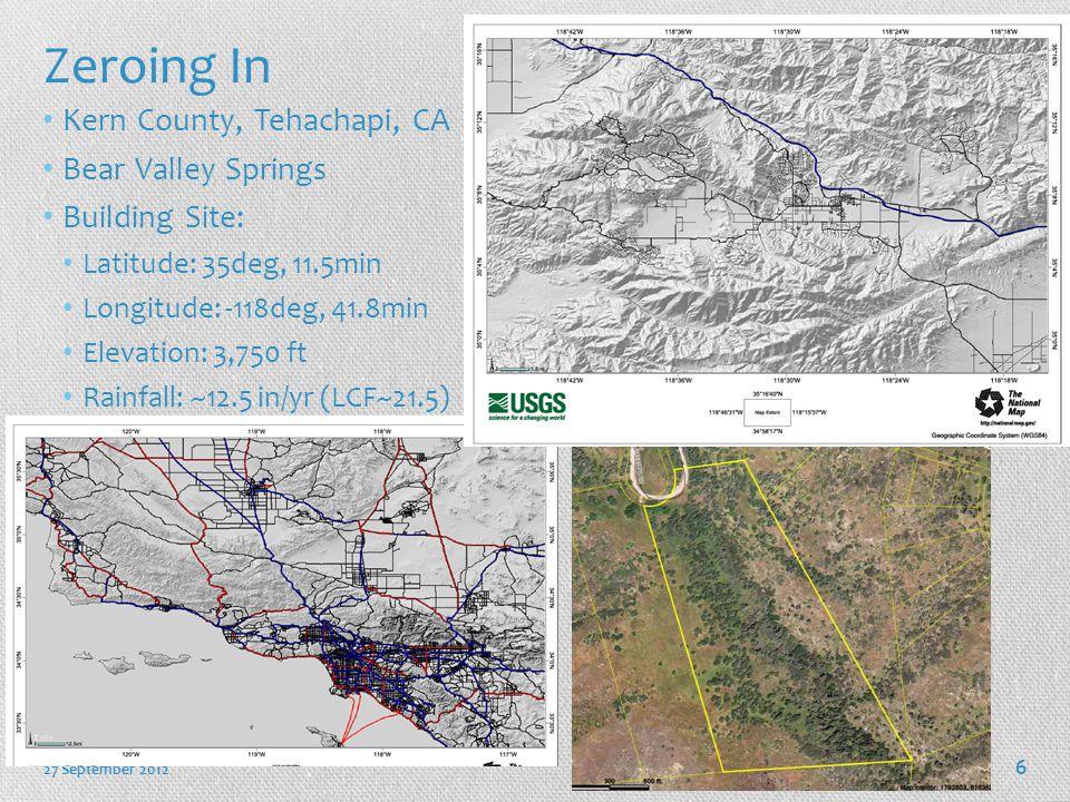 Zeroing In Kern County, Tehachapi, CA Bear Valley Springs