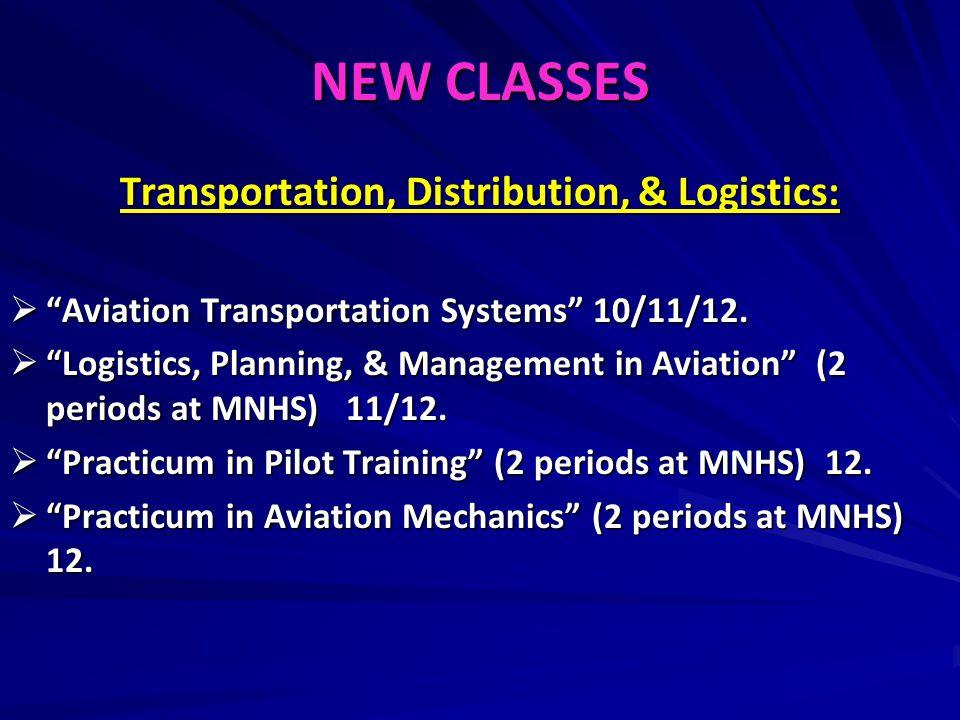 Transportation, Distribution, & Logistics: