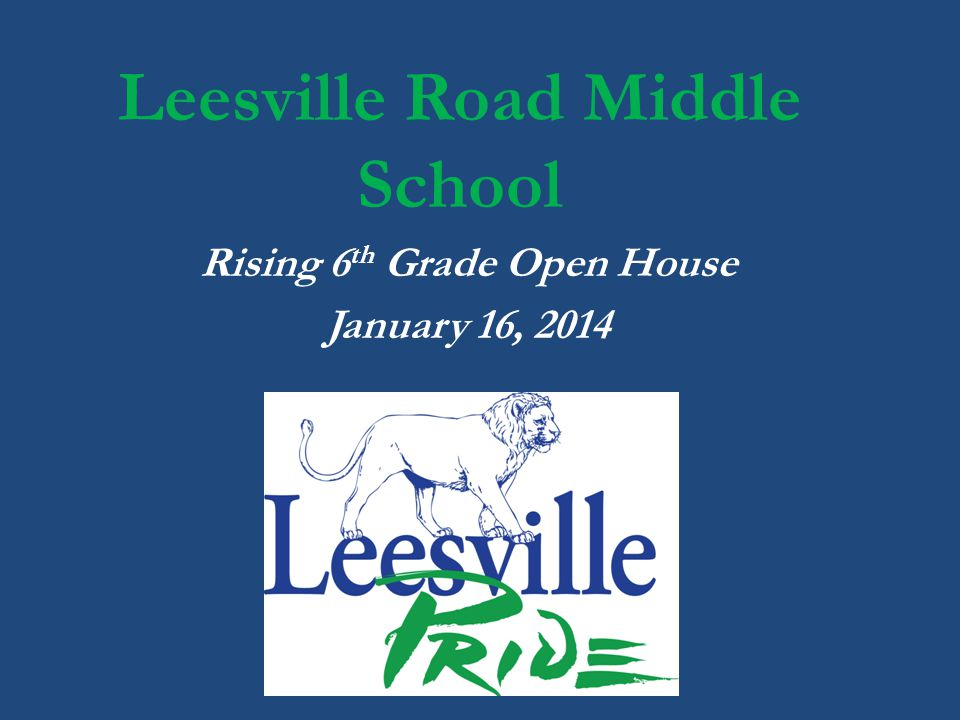 Leesville Road Middle School
