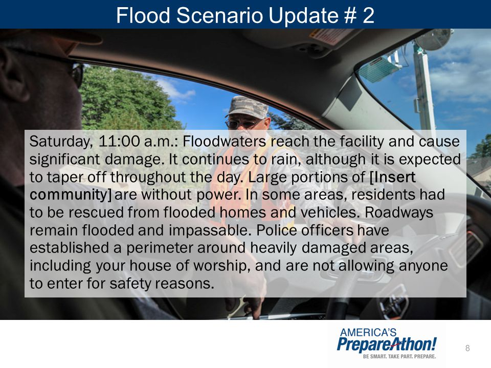 Flood Scenario Update # 2