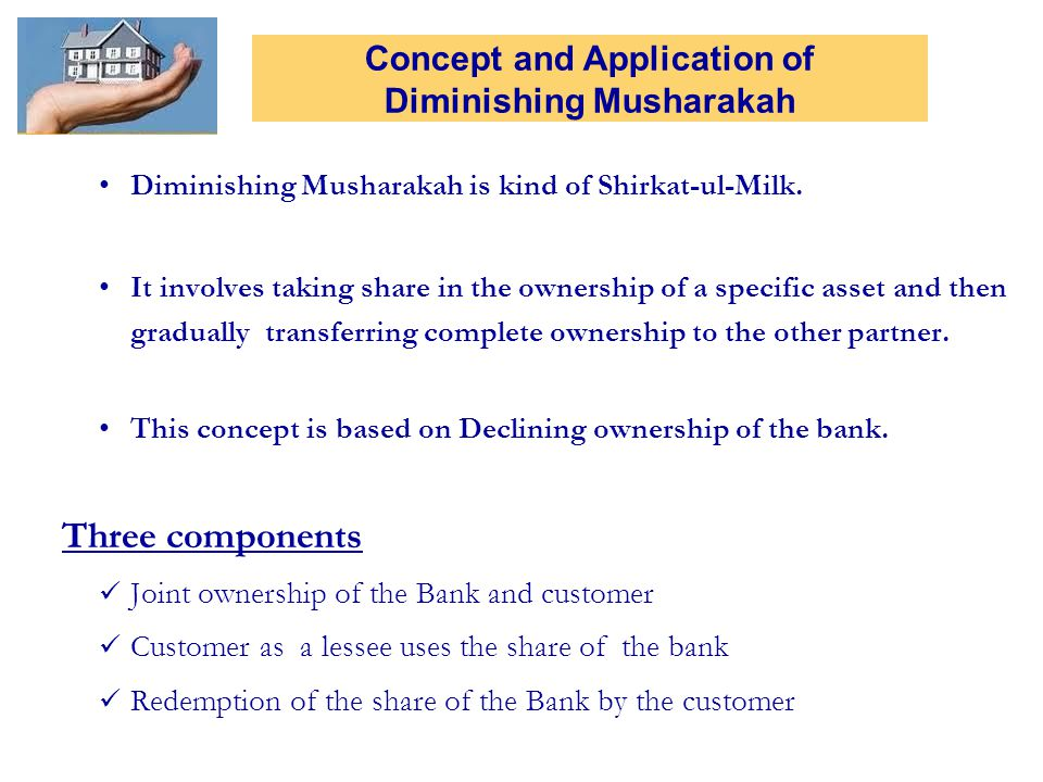 Concept and Application of Diminishing Musharakah