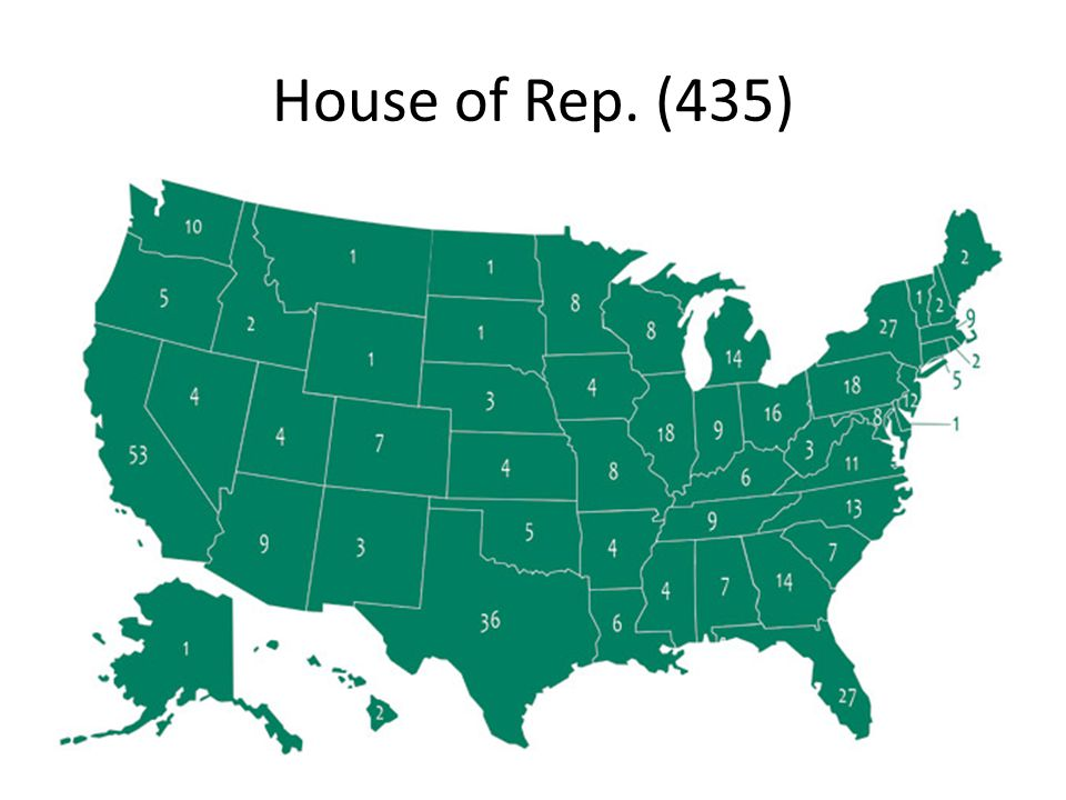 House of Rep. (435)