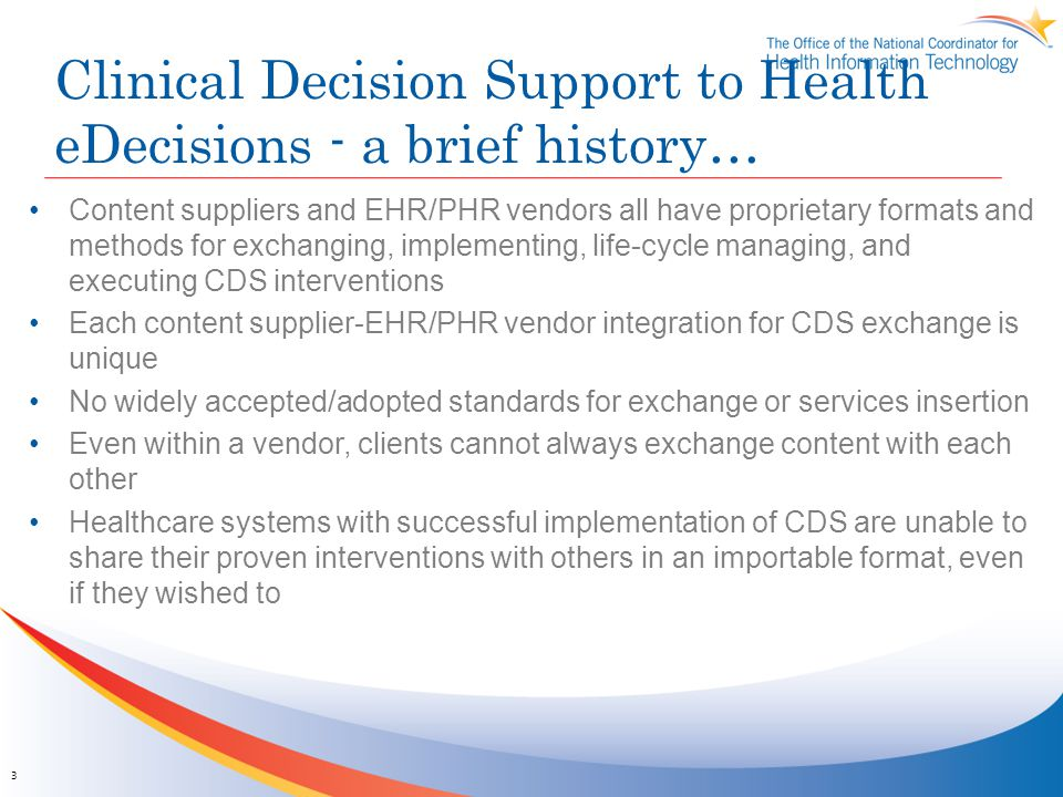 Clinical Decision Support to Health eDecisions - a brief history…