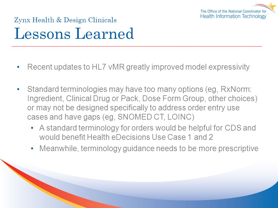 Zynx Health & Design Clinicals Lessons Learned