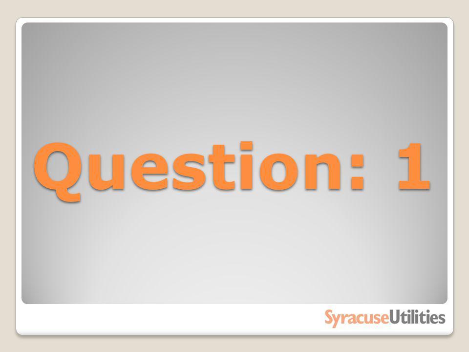Question: 1