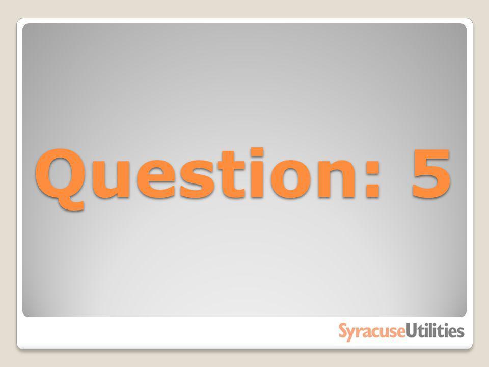 Question: 5