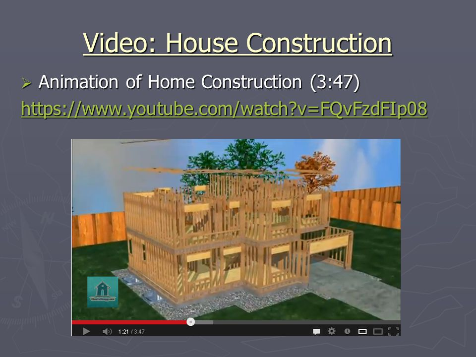 Video: House Construction