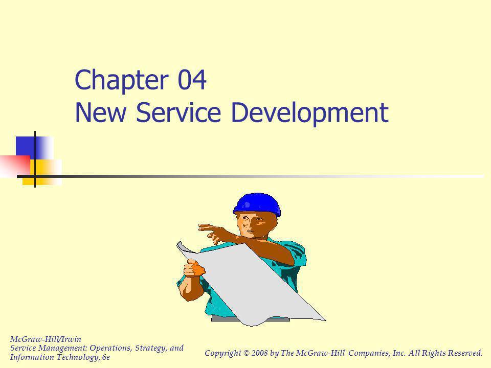 Chapter 04 New Service Development