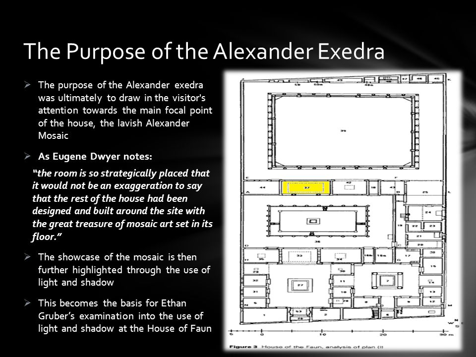 The Purpose of the Alexander Exedra