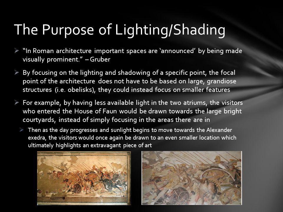 The Purpose of Lighting/Shading