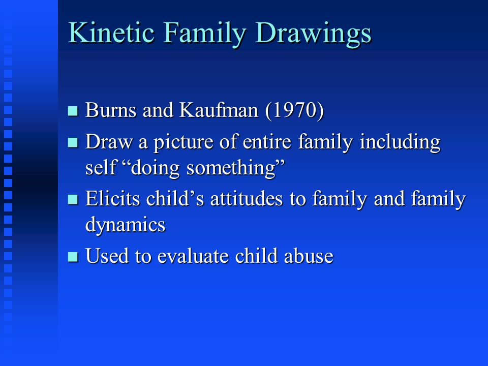 Kinetic Family Drawings