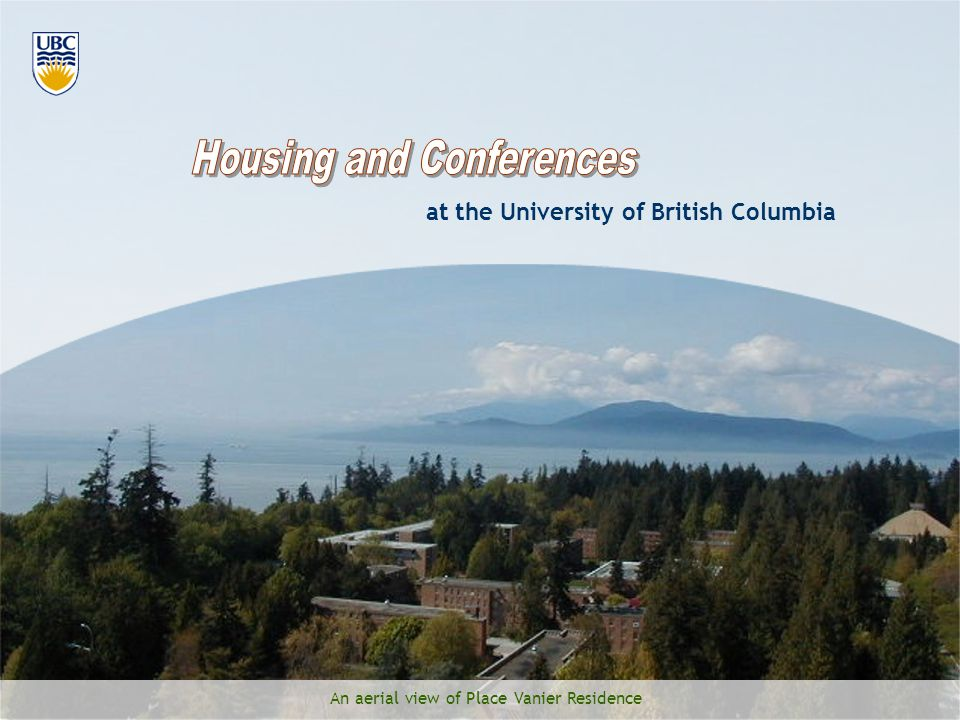 Housing and Conferences