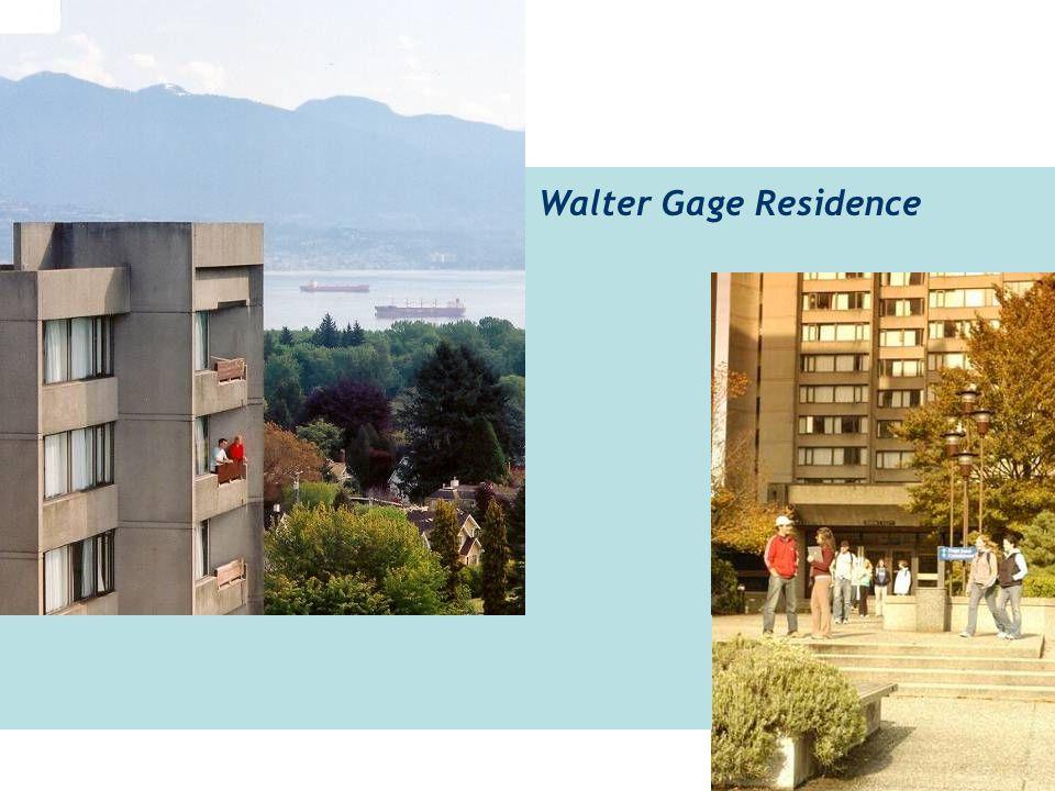 Walter Gage Residence
