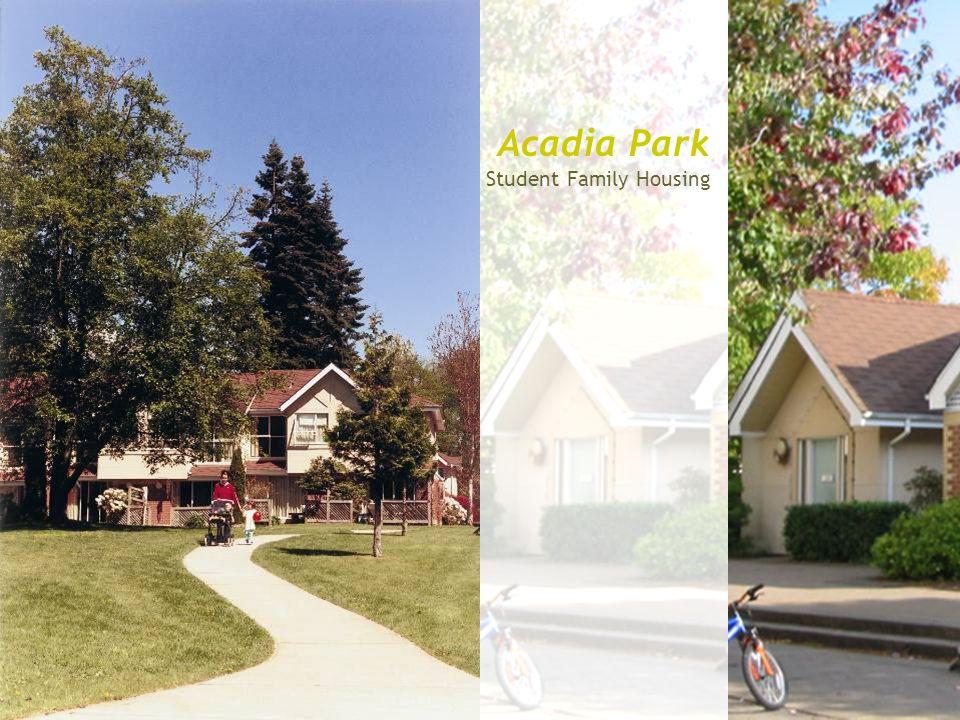Acadia Park Student Family Housing