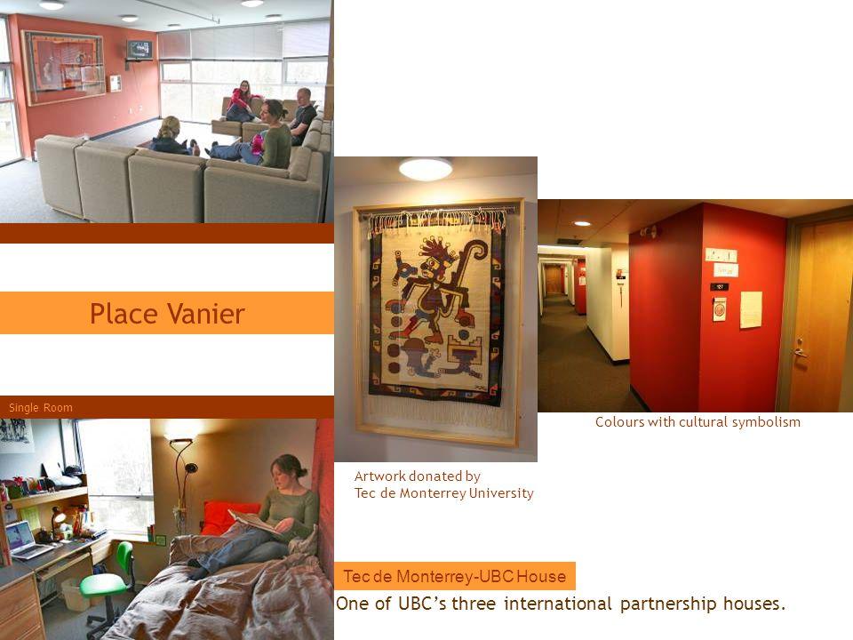 Place Vanier One of UBC's three international partnership houses.