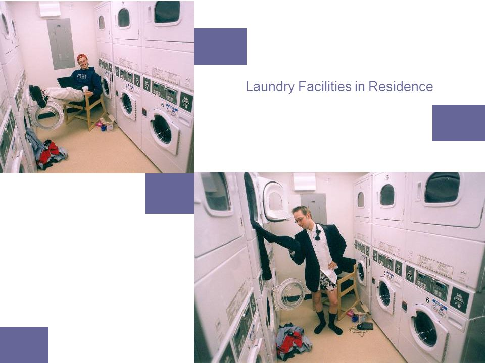 Laundry Facilities in Residence