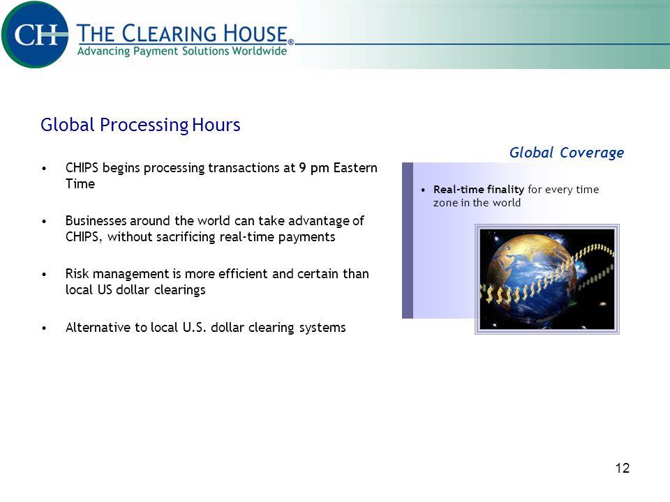 Global Processing Hours