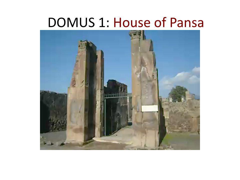 DOMUS 1: House of Pansa