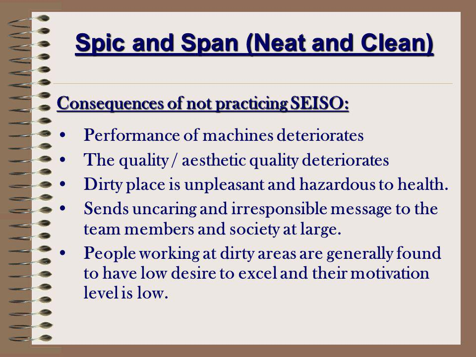 Spic and Span (Neat and Clean)