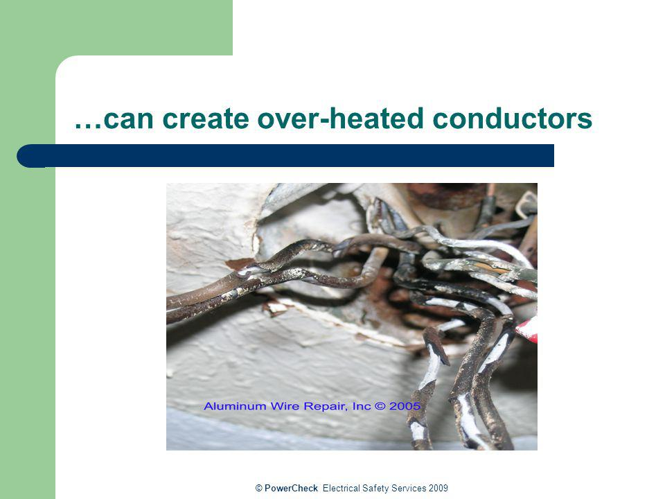 …can create over-heated conductors