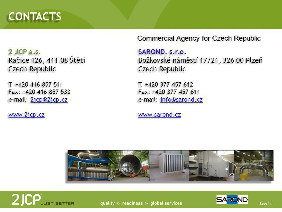 CONTACTS Commercial Agency for Czech Republic