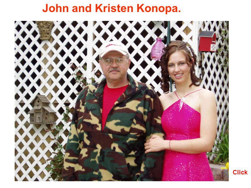 John and Kristen Konopa.