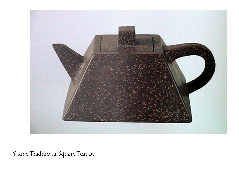 Yixing Traditional Square Teapot