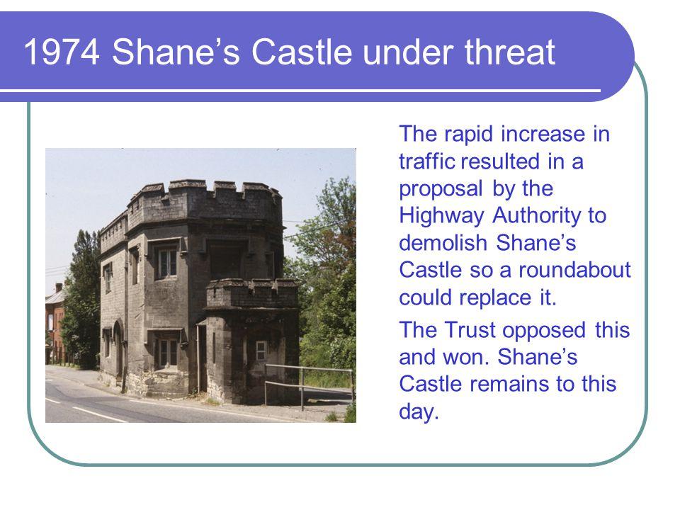 1974 Shane's Castle under threat