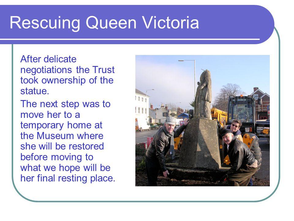 Rescuing Queen Victoria