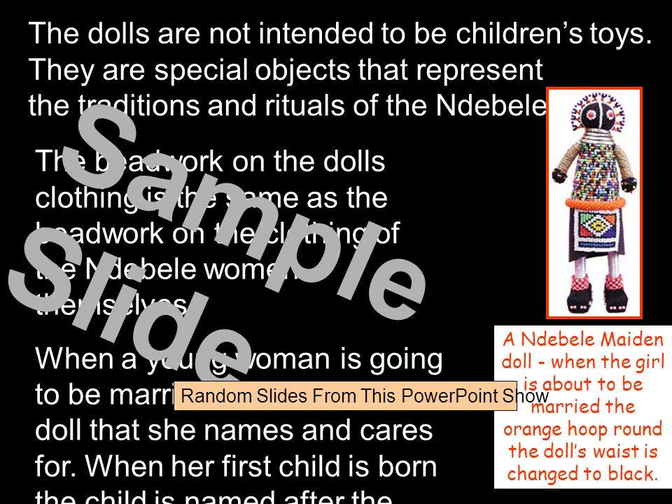 The dolls are not intended to be children's toys