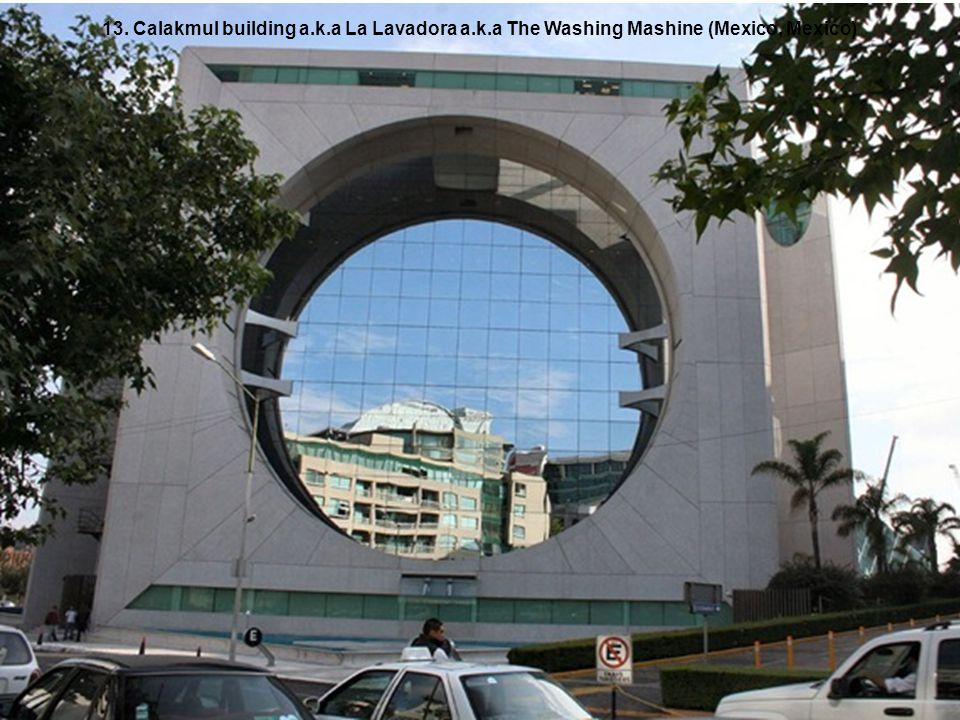 13. Calakmul building a. k. a La Lavadora a. k