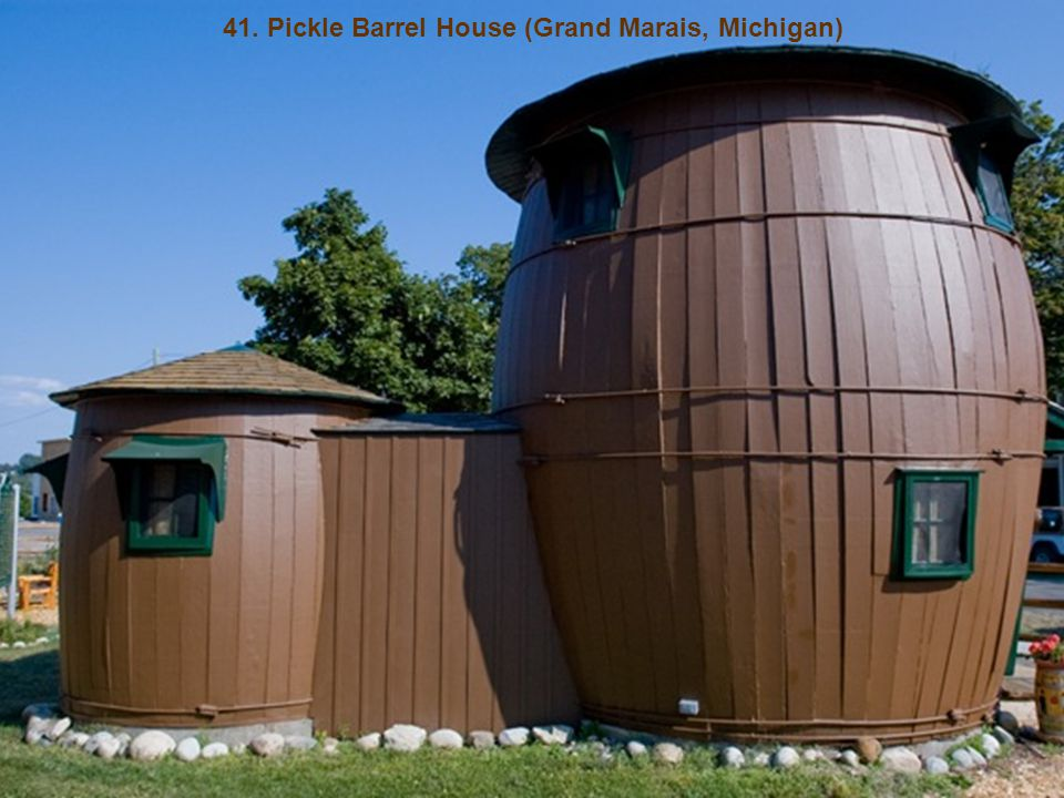 41. Pickle Barrel House (Grand Marais, Michigan)
