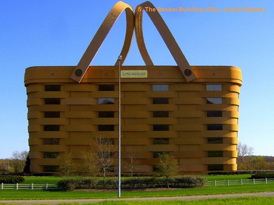 5. The Basket Building (Ohio, United States)