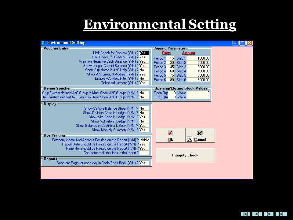 Environmental Setting