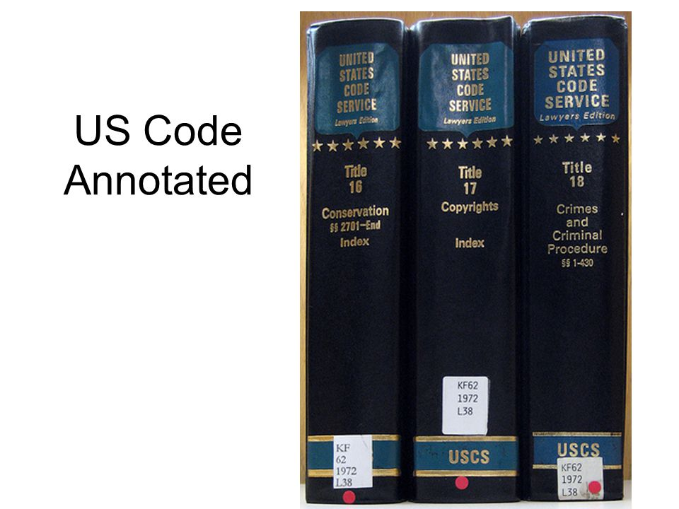 US Code Annotated