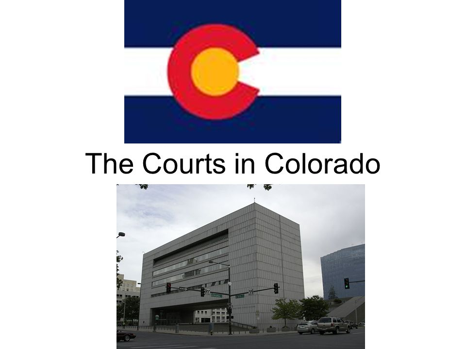 The Courts in Colorado