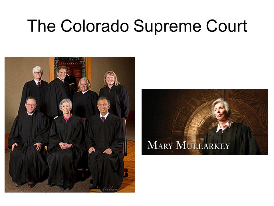 The Colorado Supreme Court