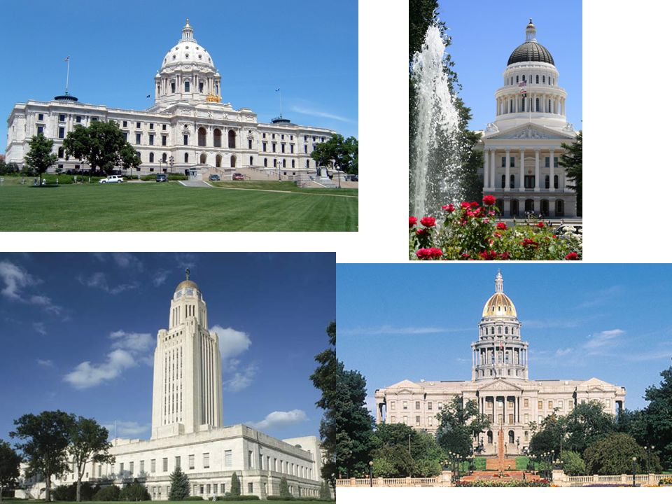 MN CA NB CO But there are more than just State and federal legislatures…