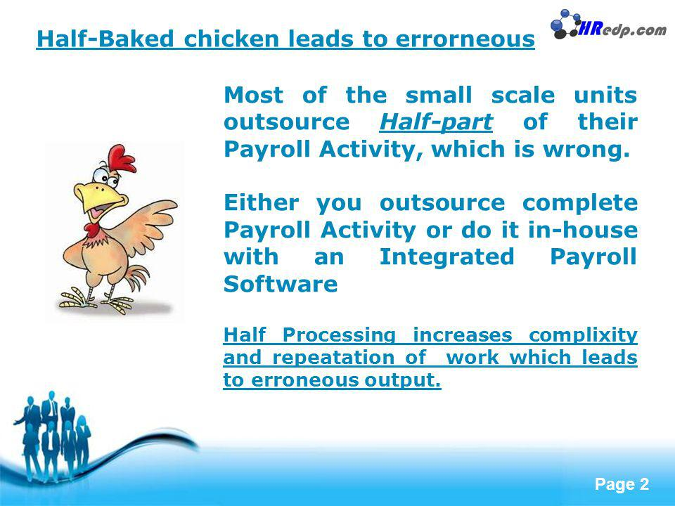 Half-Baked chicken leads to errorneous