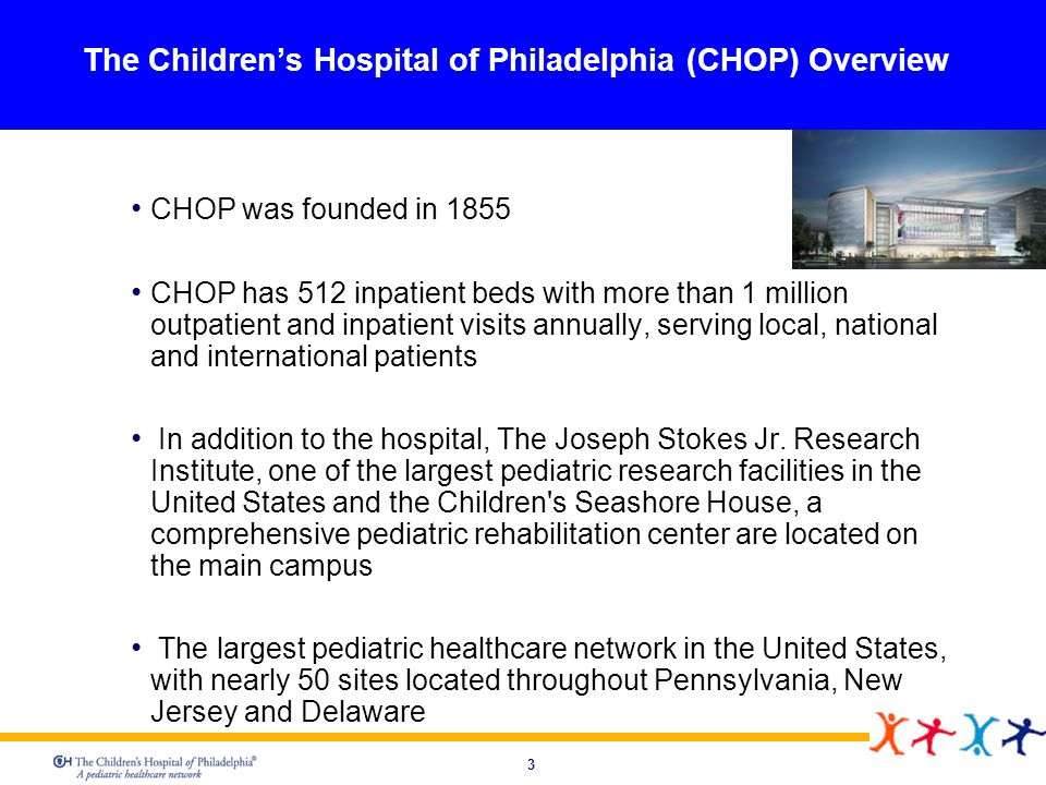 The Children's Hospital of Philadelphia (CHOP) Overview