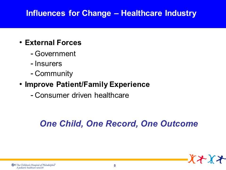 Influences for Change – Healthcare Industry