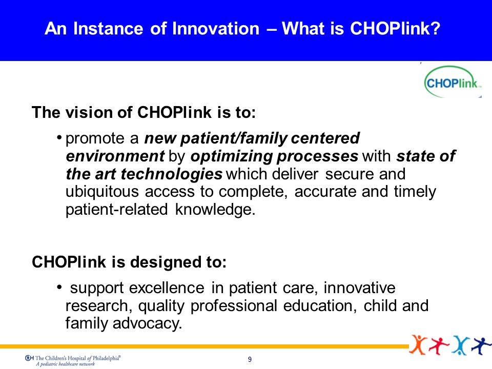 An Instance of Innovation – What is CHOPlink